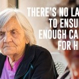 Ratios for Aged Care - Make Them Law Now